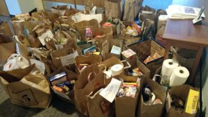 High Holiday food collection