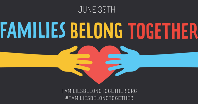 Rallies Tomorrow: Families Belong Together