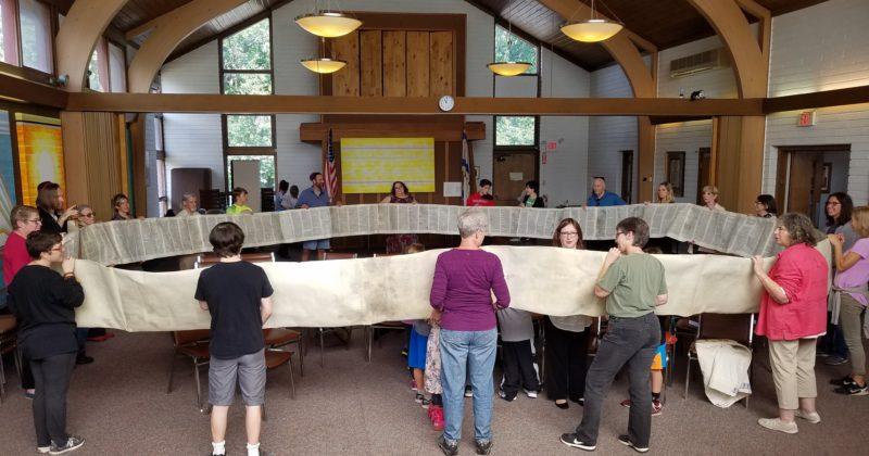 Simchat Torah and Religious School Consecration Photos