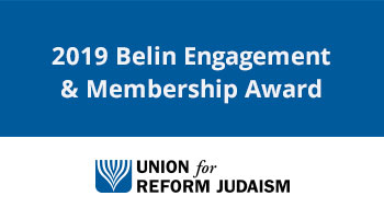 URJ Belin Award 2019
