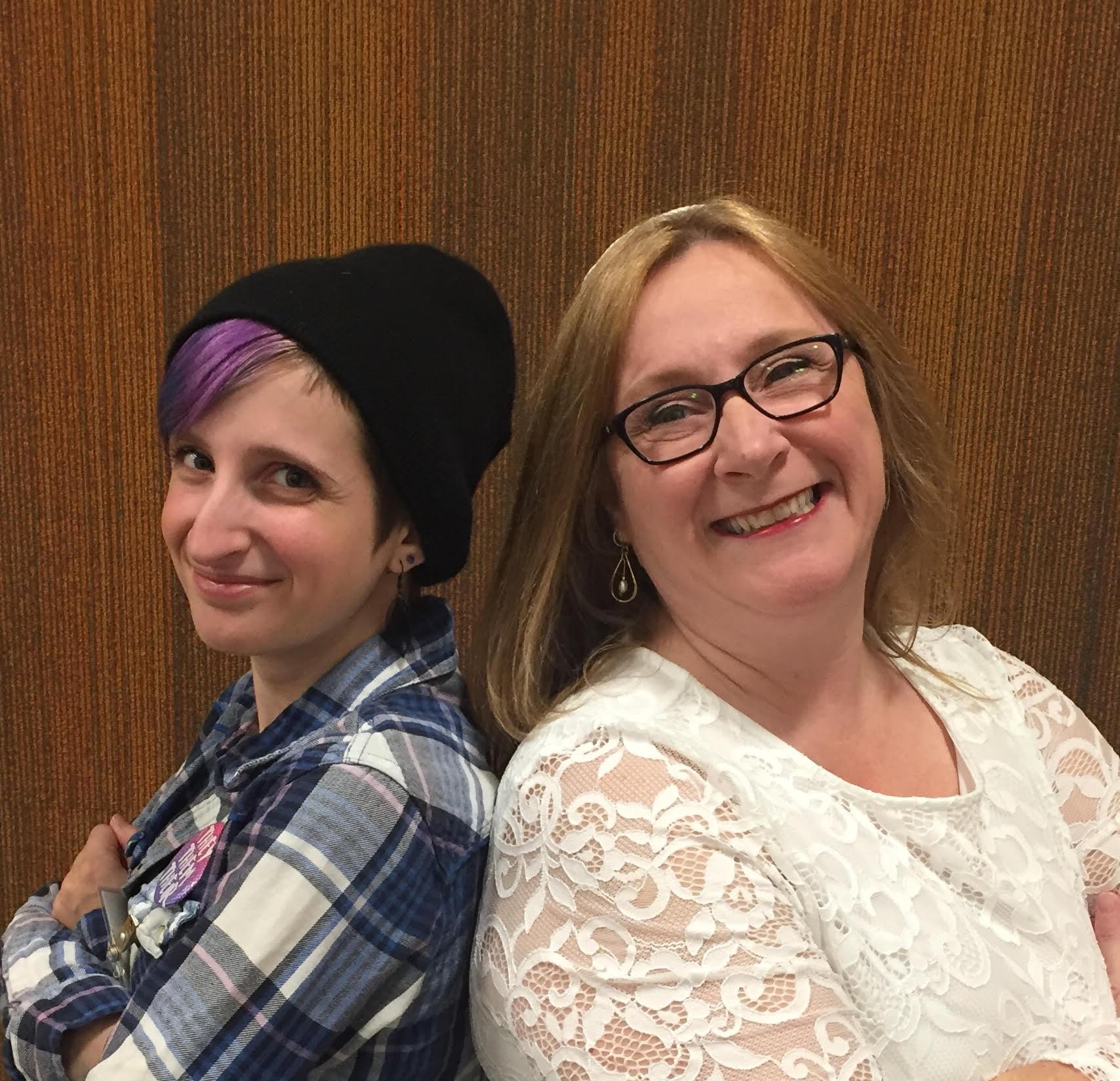 Rabbi Robin Sparr and Jo Rothman